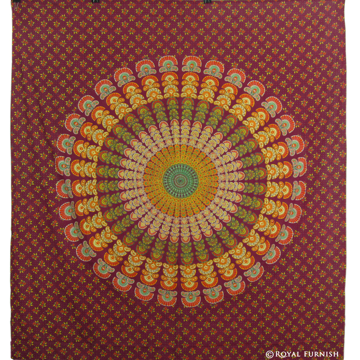 Tapestries And Wall Tapestry Decor : Multicolor indian mandala hippie boho dorm decor tapestry