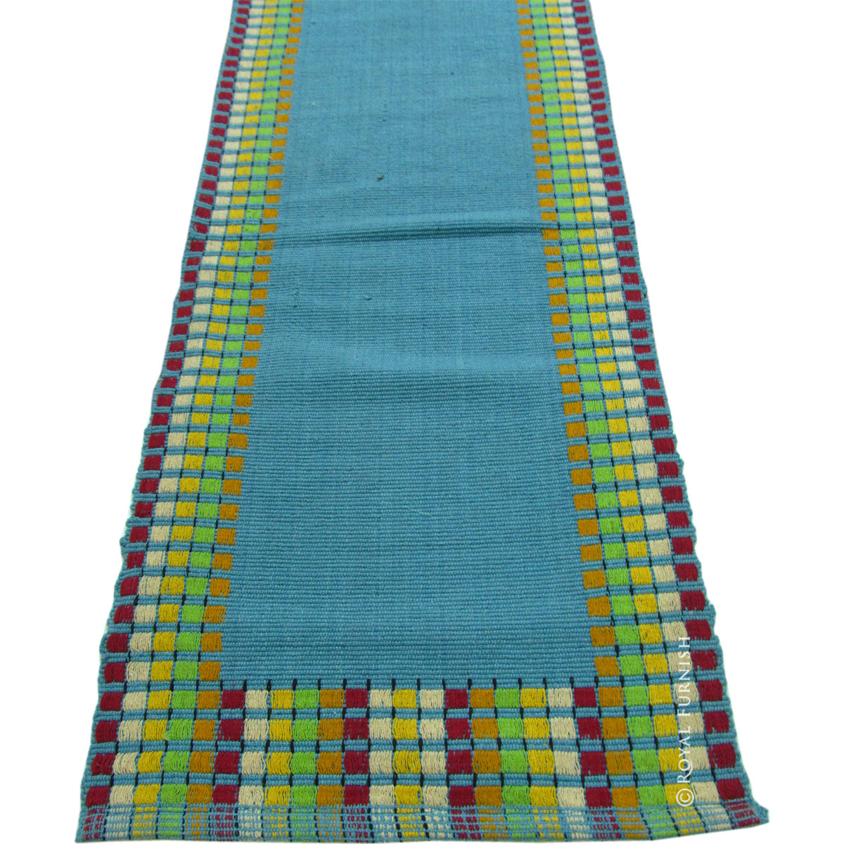 Large Indian Hand Woven Bed Side Contemporary Kitchen & Hallway Rag ...