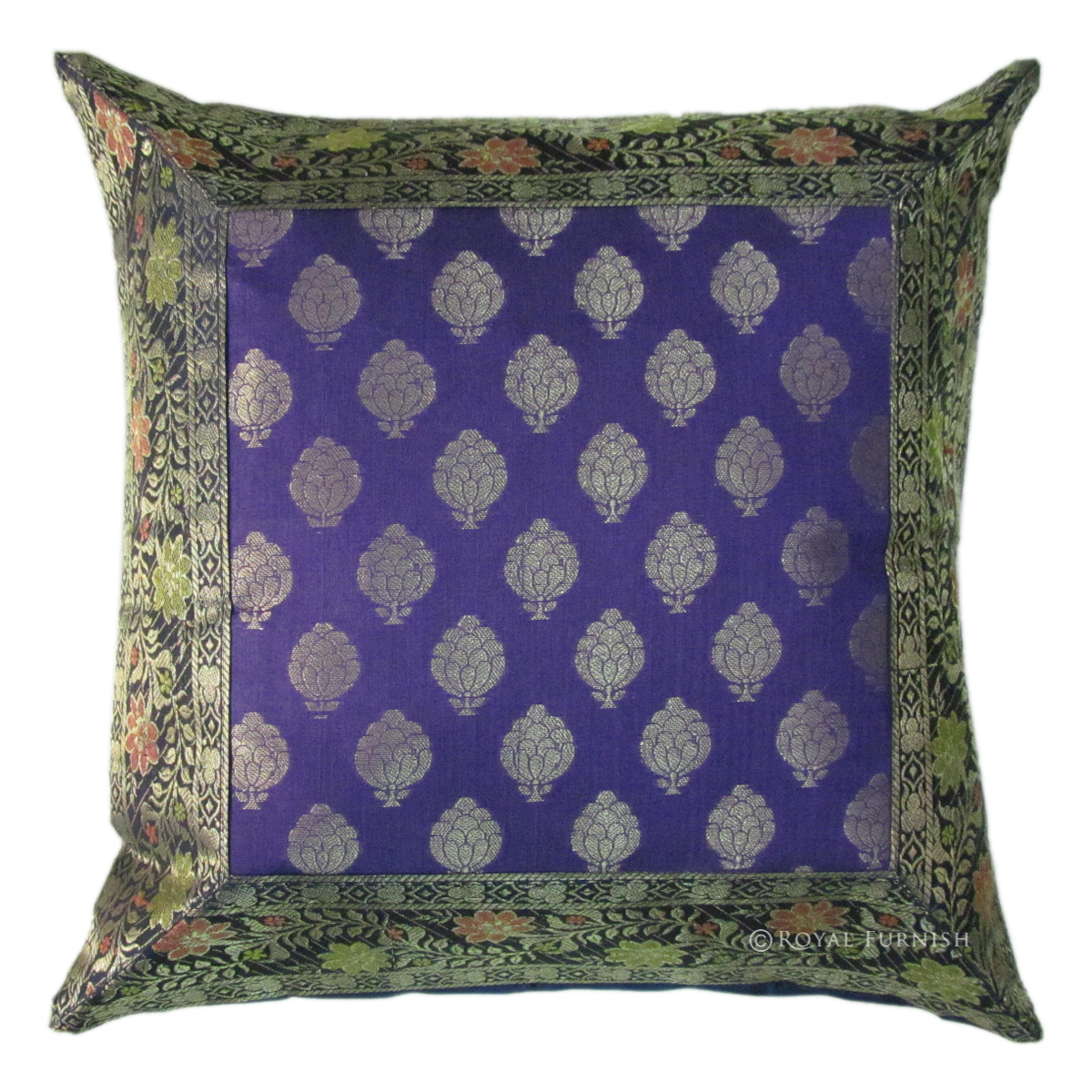 Purple Silk Throw Pillows : 16