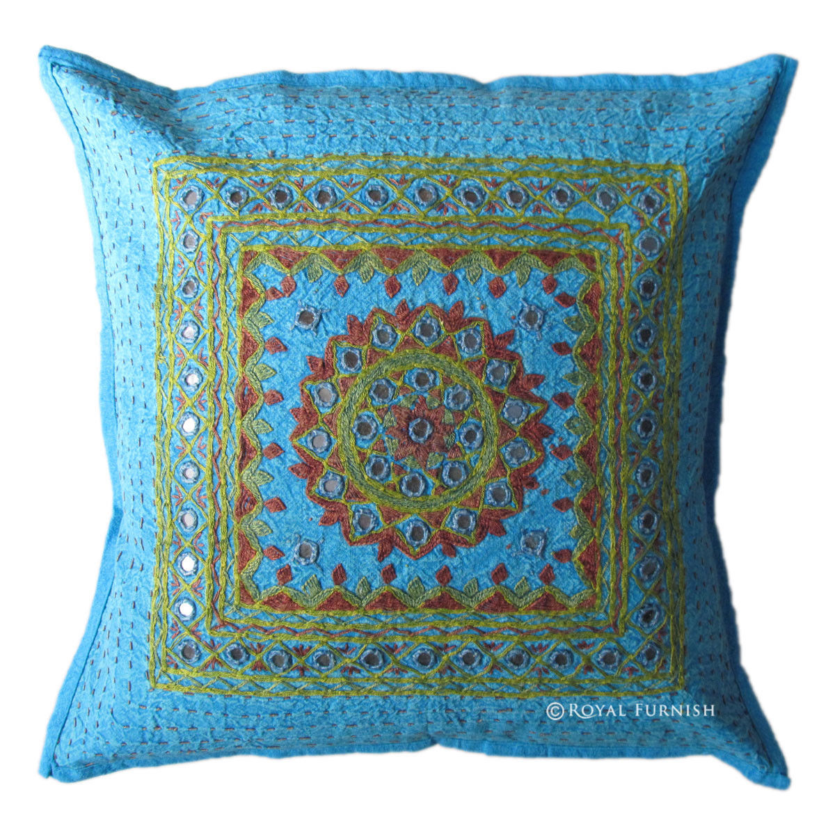 Embroidered Throw Pillow Covers : 16