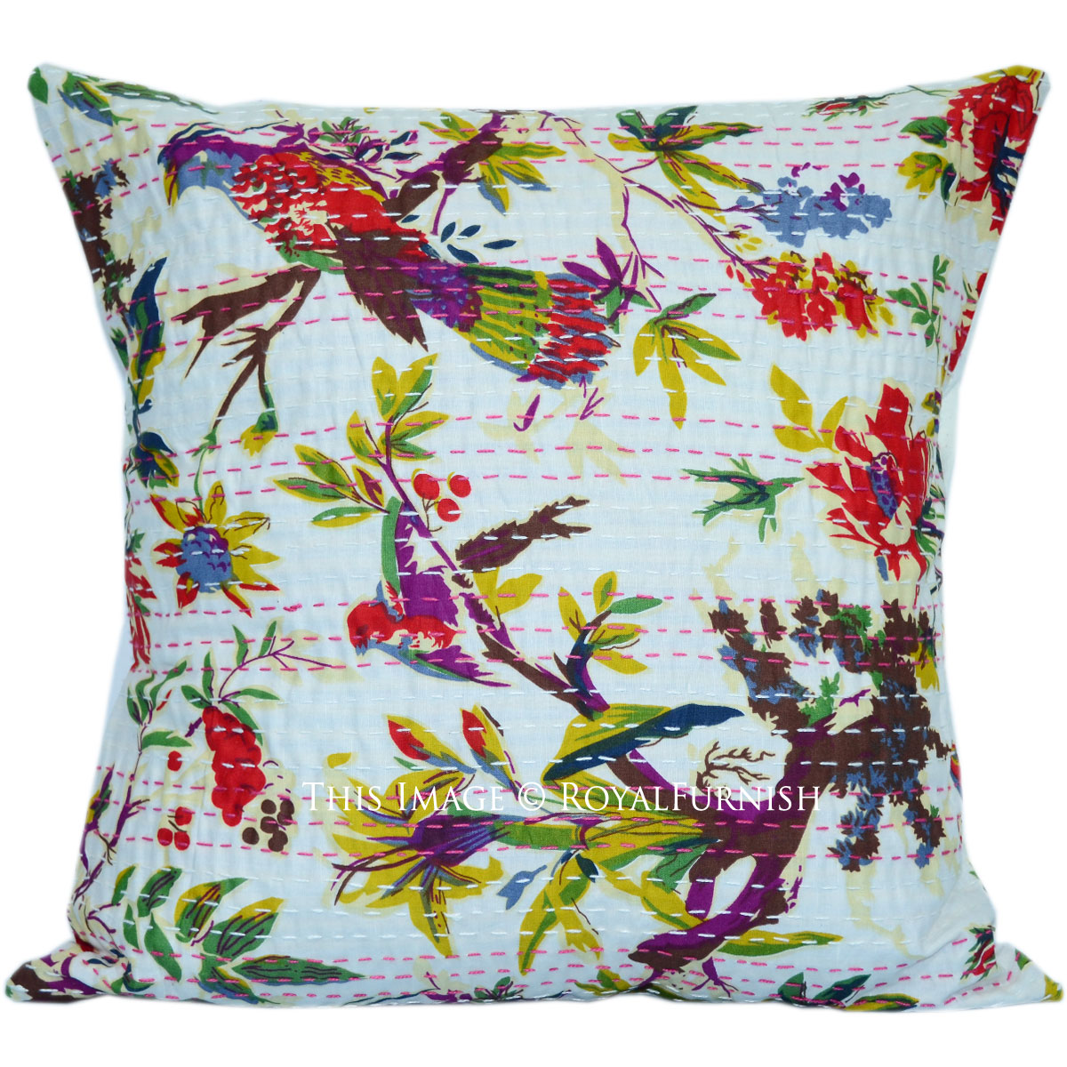 Throw Pillows With Birds : 16