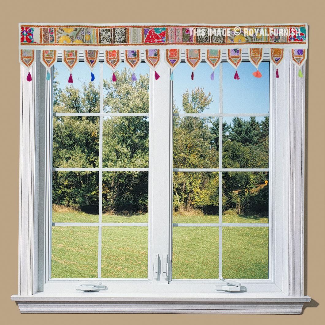 torans indian door hangings window valances royal furnish. Black Bedroom Furniture Sets. Home Design Ideas