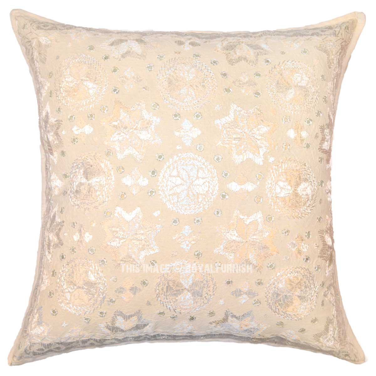 Embroidered Decorative Pillow : 24