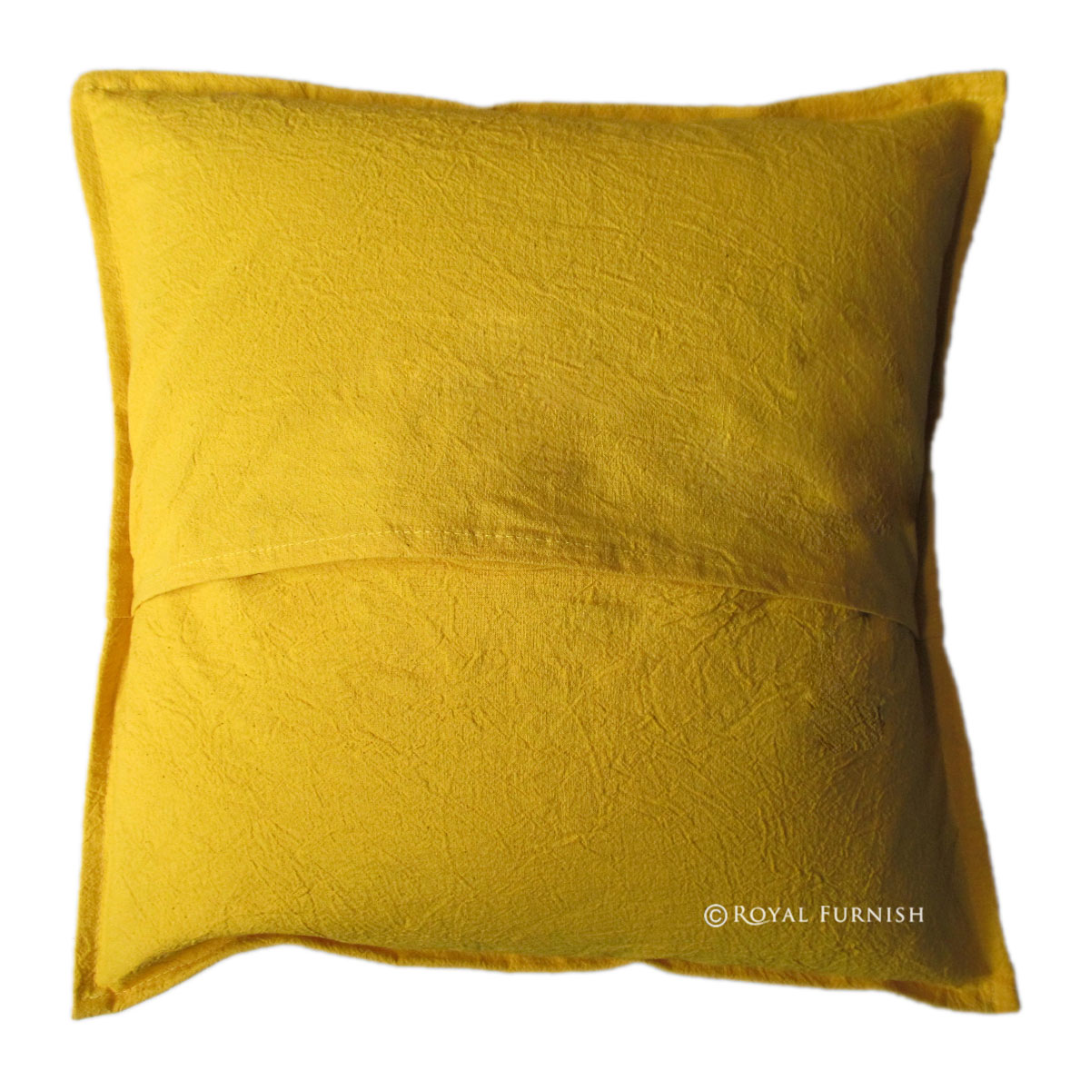 Large Yellow Throw Pillow : 20x20