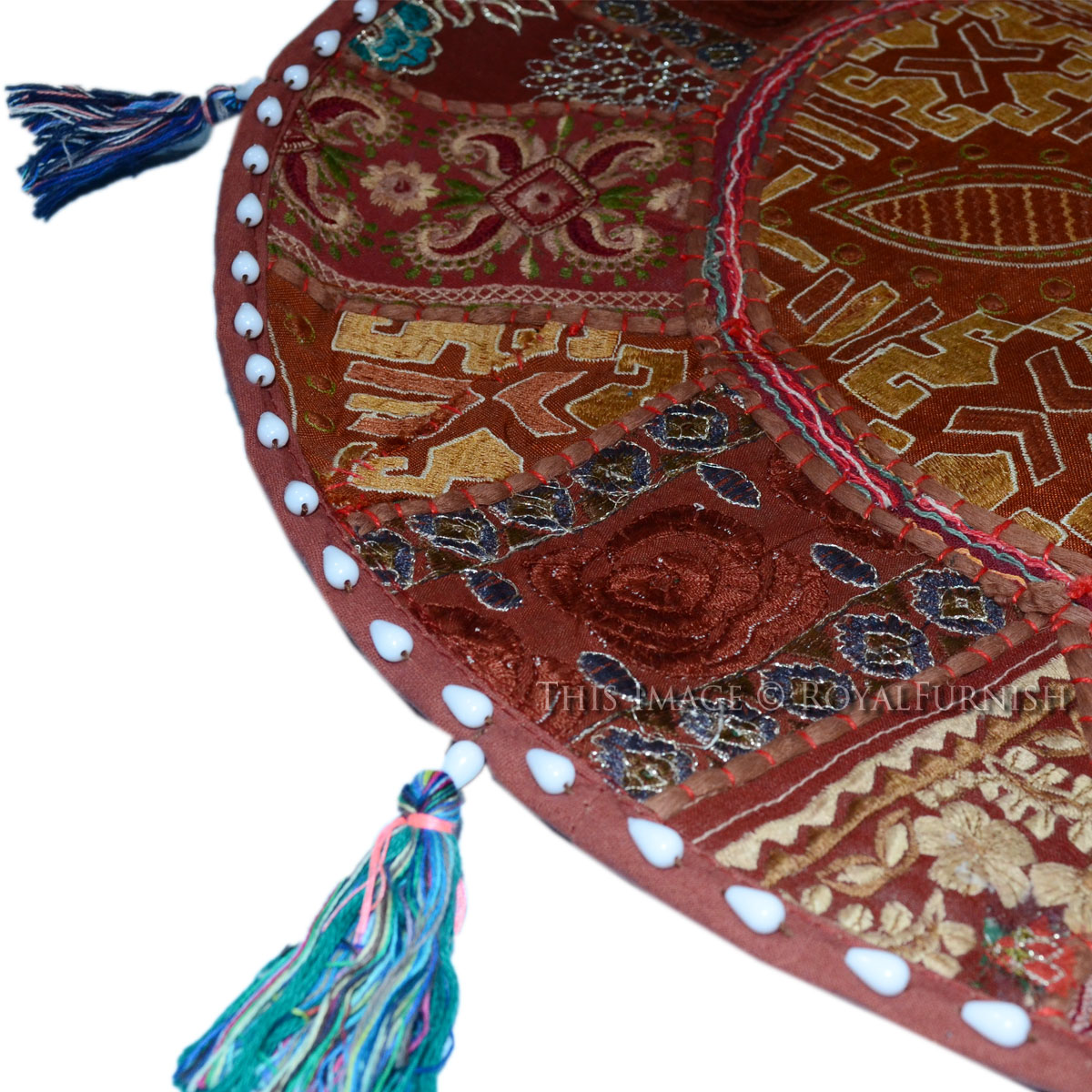 Hand Patchwork Embroidered Cotton Baby Sitting Floor