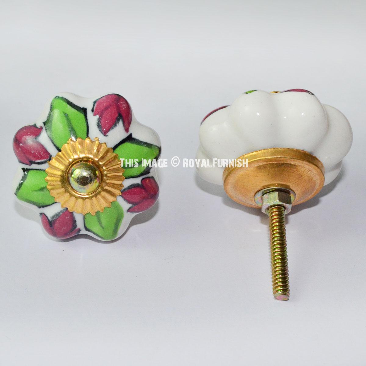 Decorative Knobs And Pulls Ceramic Knobs Royal Furnish