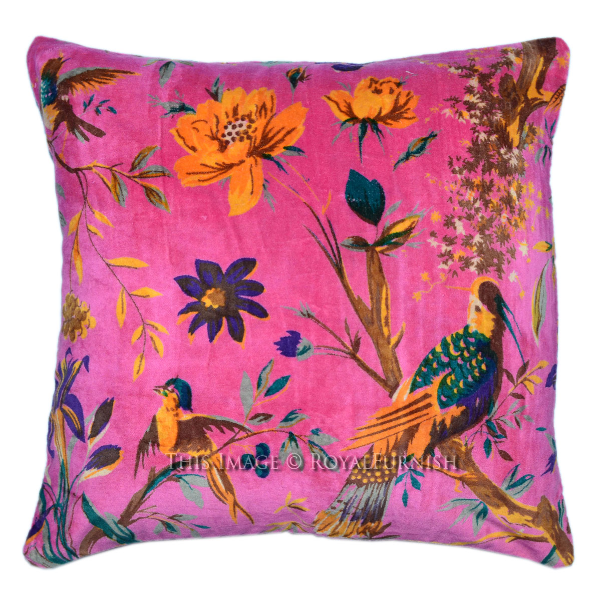 Pink Decorative Pillow Covers : 16