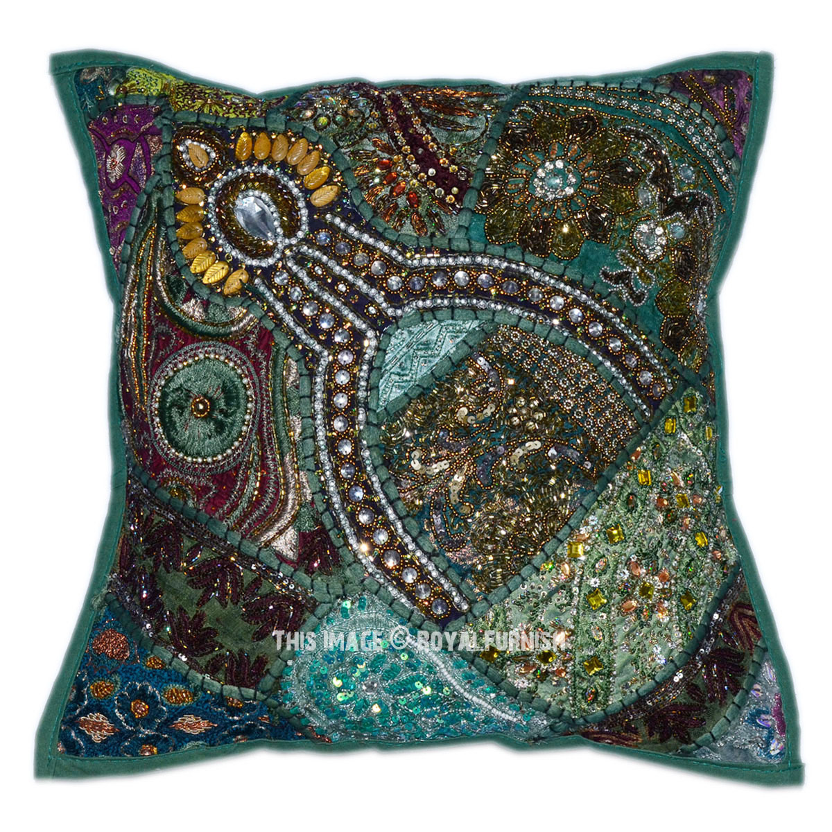 Decorative Pillows With Beads : 16