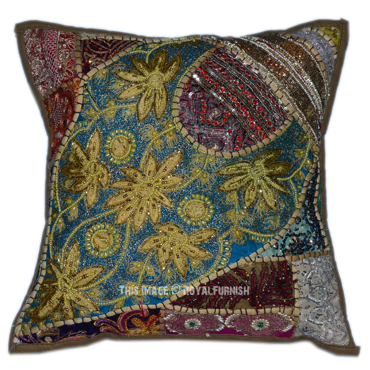 Decorative Pillows With Beads : 40