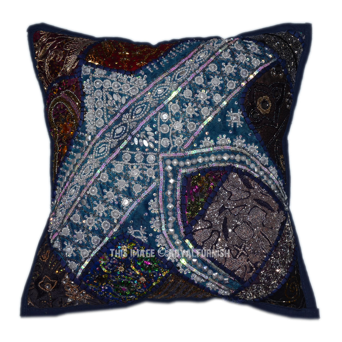 Decorative Pillows With Beading : 40