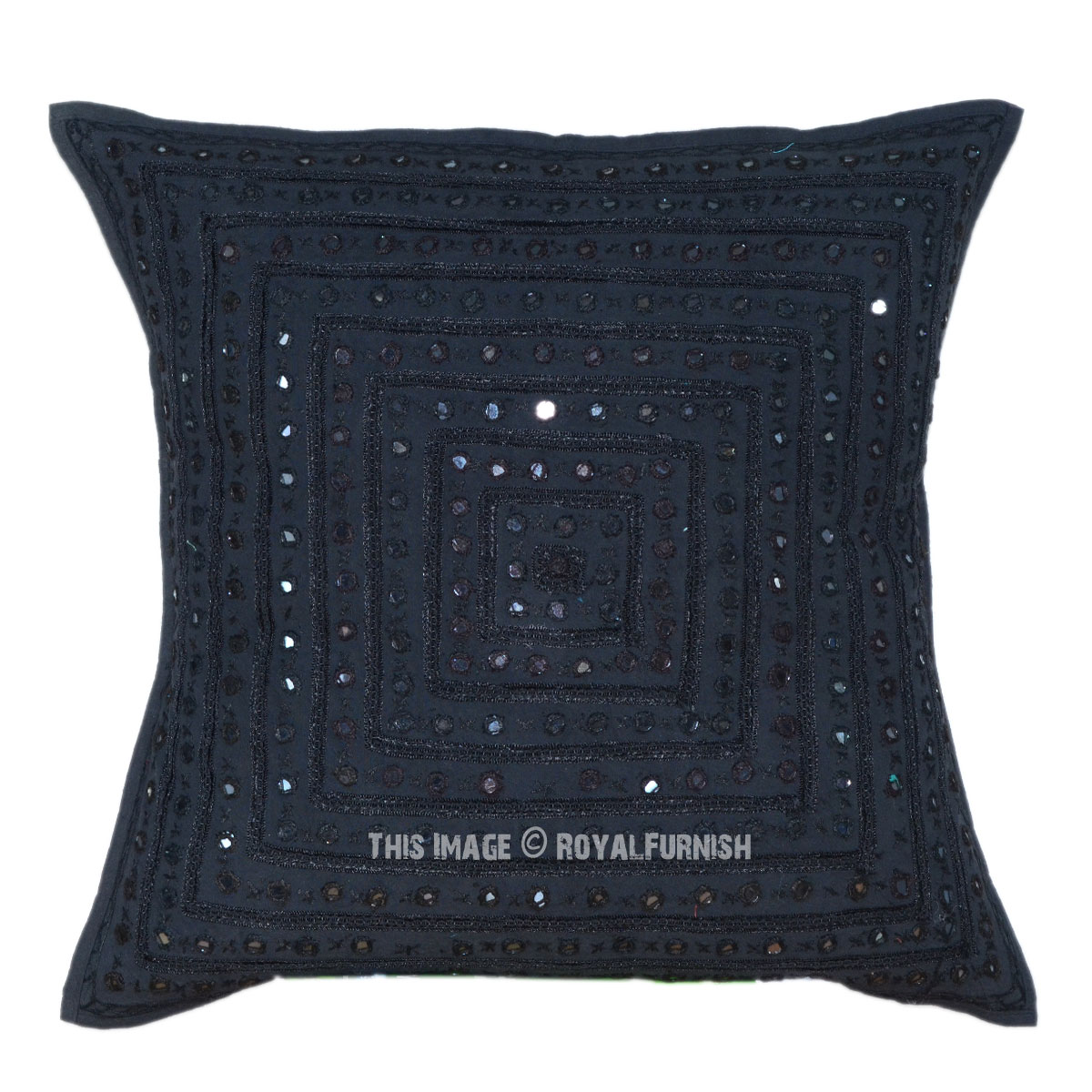 Decorative Pillows With Mirrors : 24x24