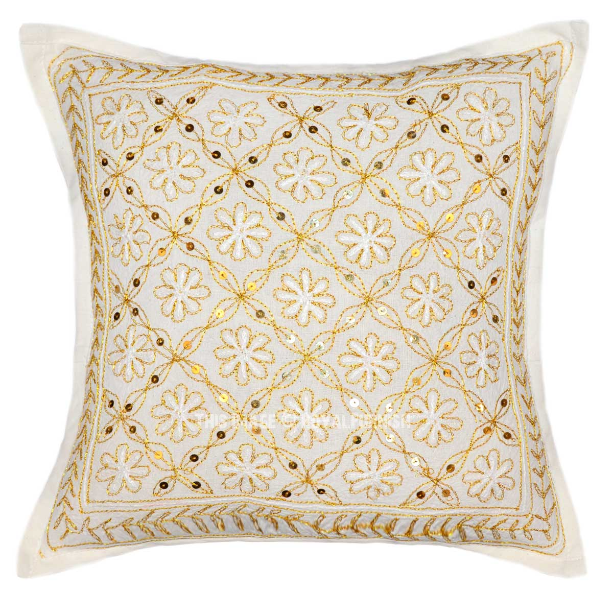 Pillow with embroidery 76