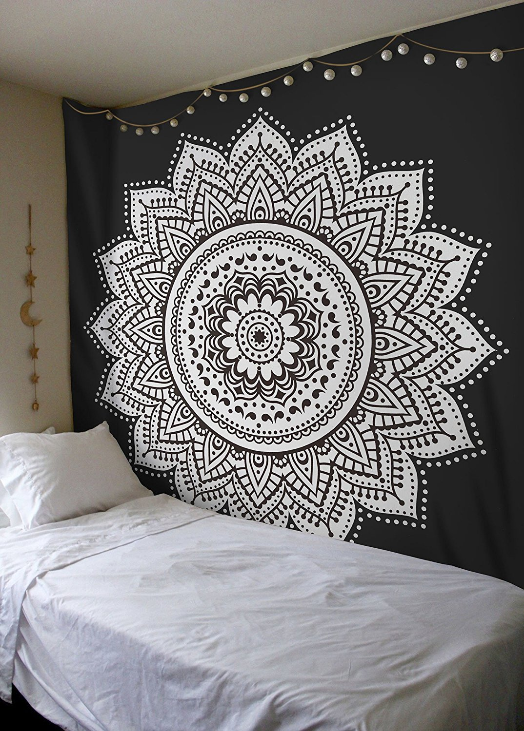 wall hangings mandala tapestries black white rangoli mandala wall