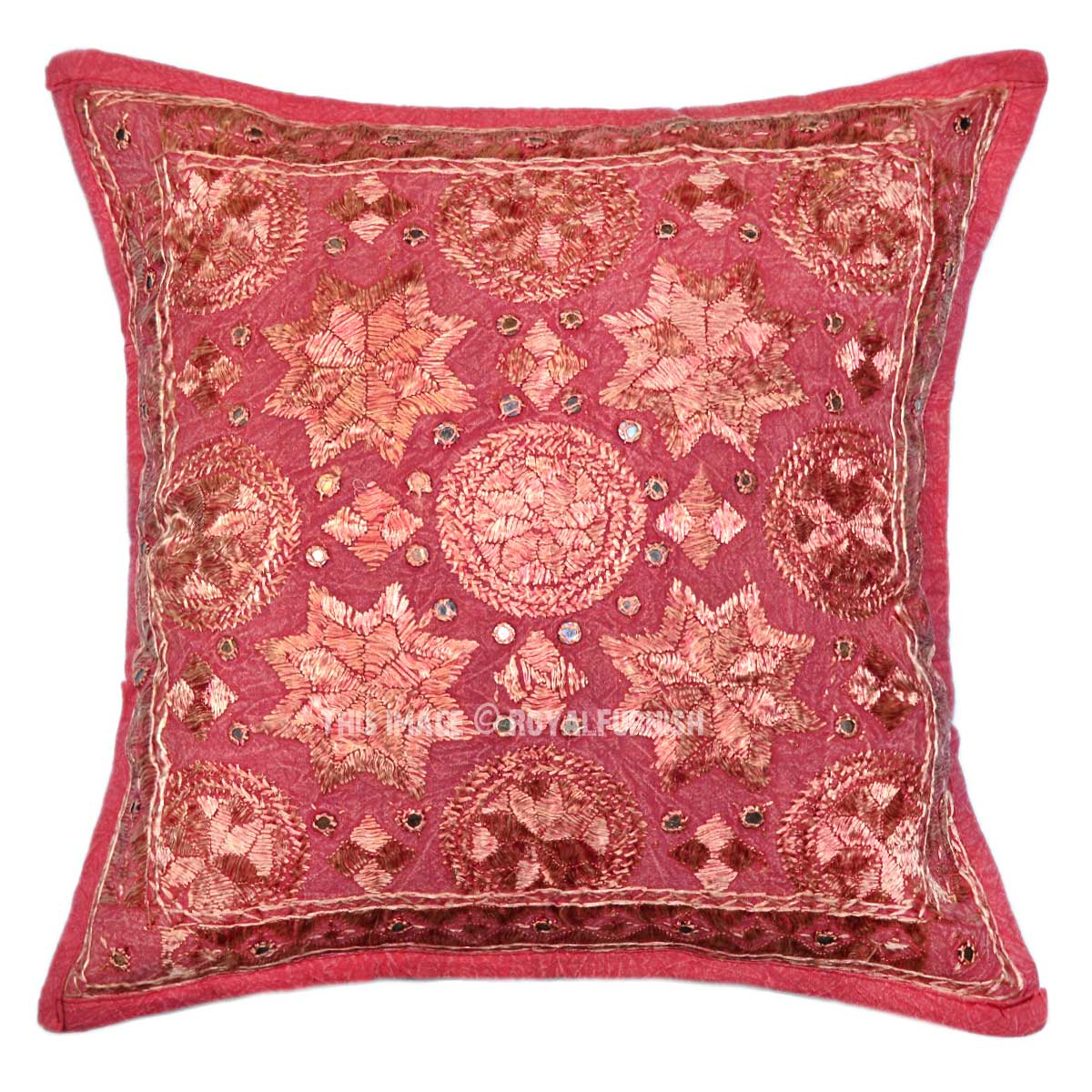 Throw Pillows Maroon : 18