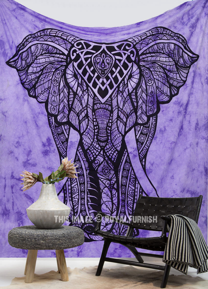 Purple Tie Dye Valentina Harper Ruby The Asian Elephant