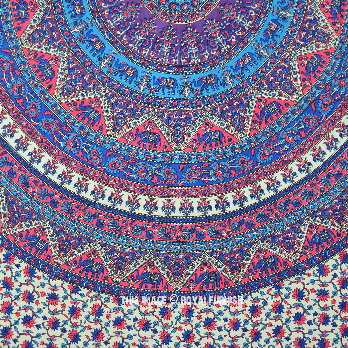 Indian Tapestry Bedroom Hippie