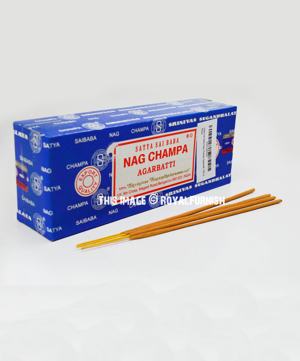 Satya Nag Champa Incense Sticks 250 Gram Royalfurnish Com