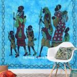 Queen Size Tribal Bohemian Hippie Cotton Tapestry & Bedspread
