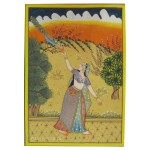 Radha Ragini Rajasthan Traditional Miniature Painting