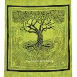 Celtic Tree of Spirits Wall Tapestry, Indian Tapestry Bedding