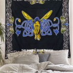 Mystic Fairy Tapestry Bedroom Bedspread Bedding, Butterfly Wall Tapestry