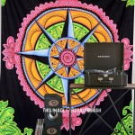 Multi Eye Candy Voyager Hippie Wall Tapestry