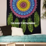 Colorful Dream Catcher Wall Tapestry