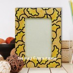 Yellow 5X7 Inch Picture Frame