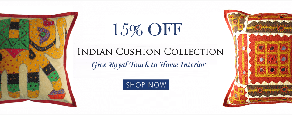 indian decorative cushion pillows