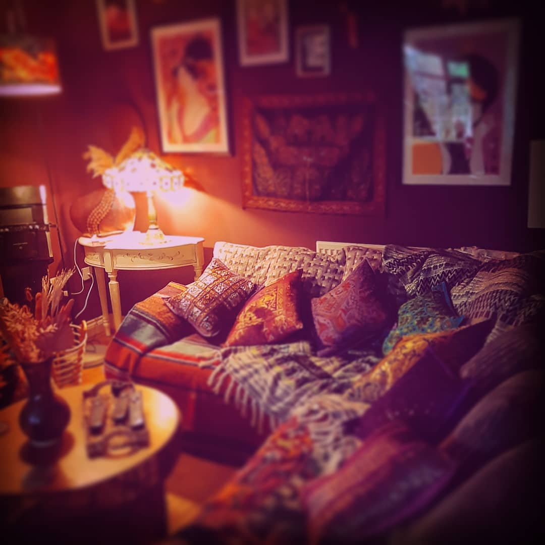 Cosy vibes ♡ #cosylivingroom #boho #colourlove