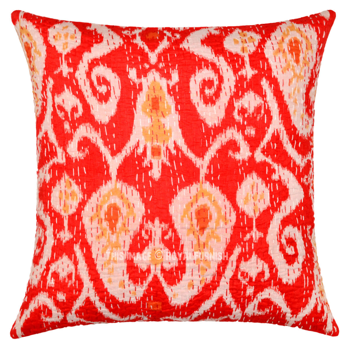 product fiona cushion pillow red velvet
