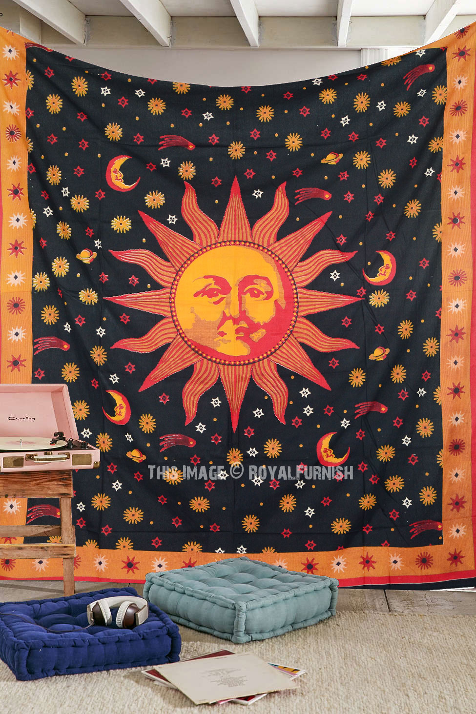 Small Purple Tapestry