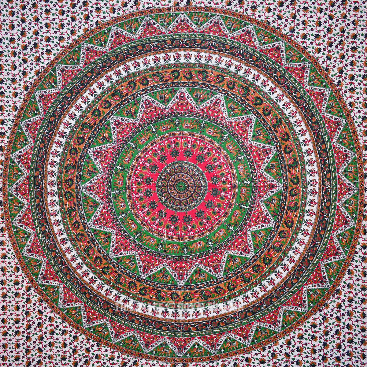 Mandala Tapestry Bedroom
