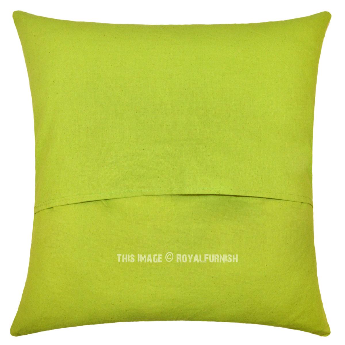 Light Green Decorative Pillow : 16