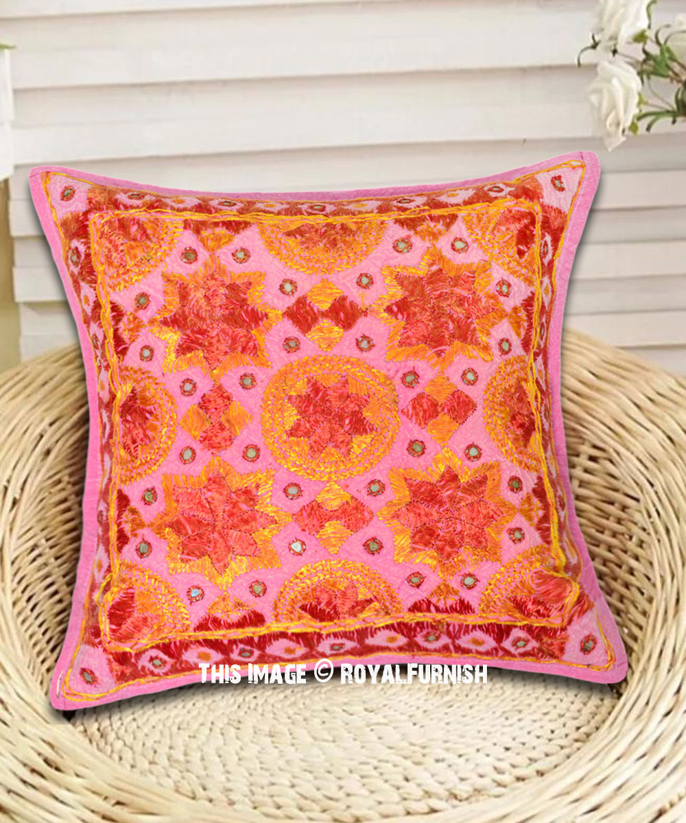 Mirrored Star Decorative Pillow Cover