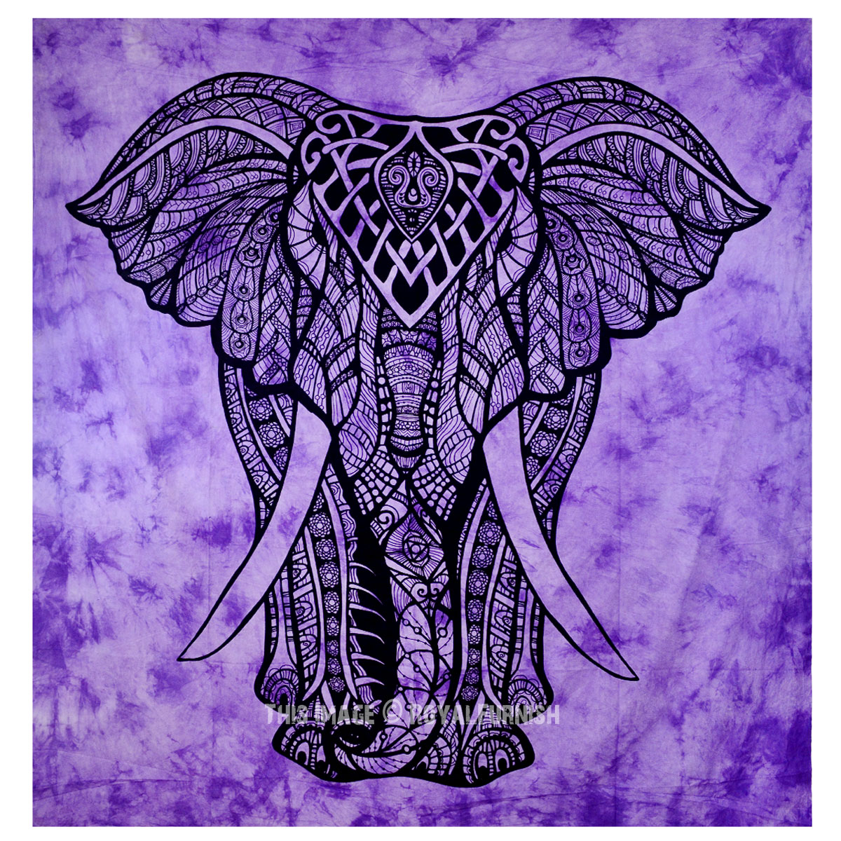 Purple Tie Dye Valentina Harper Ruby The Asian Elephant