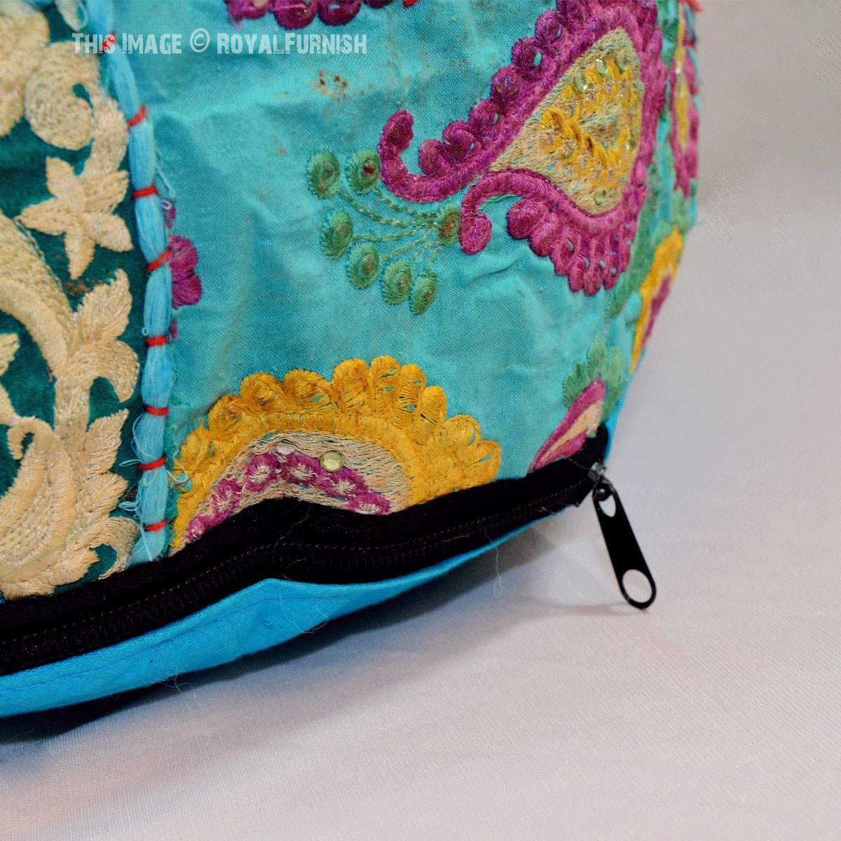 how to make a pouf cover