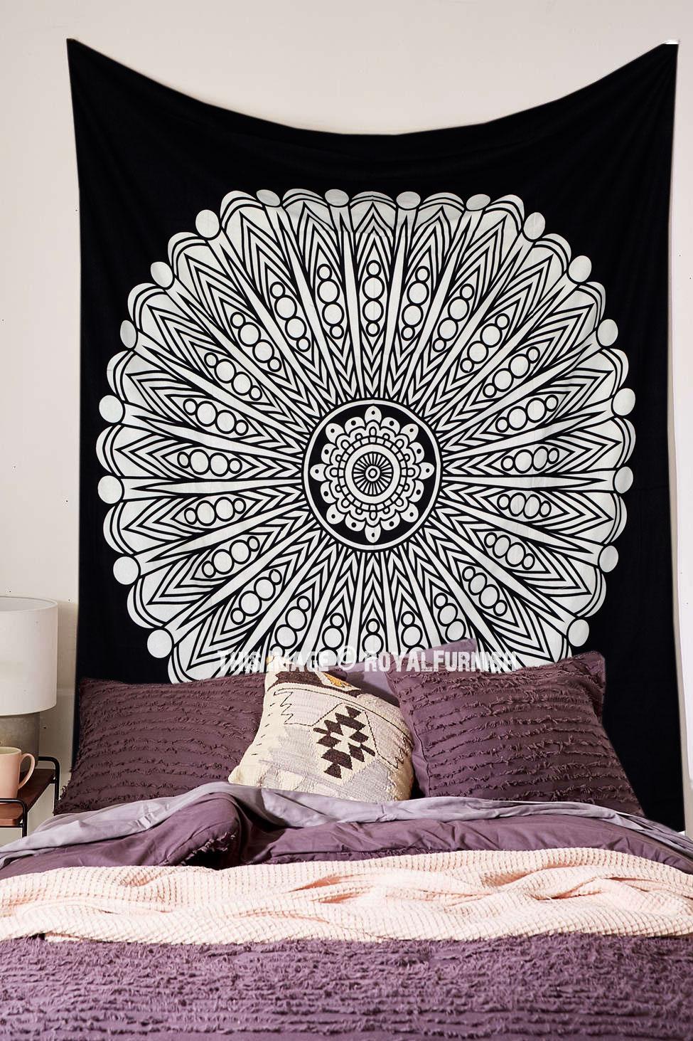 Mandala Tapestry Room