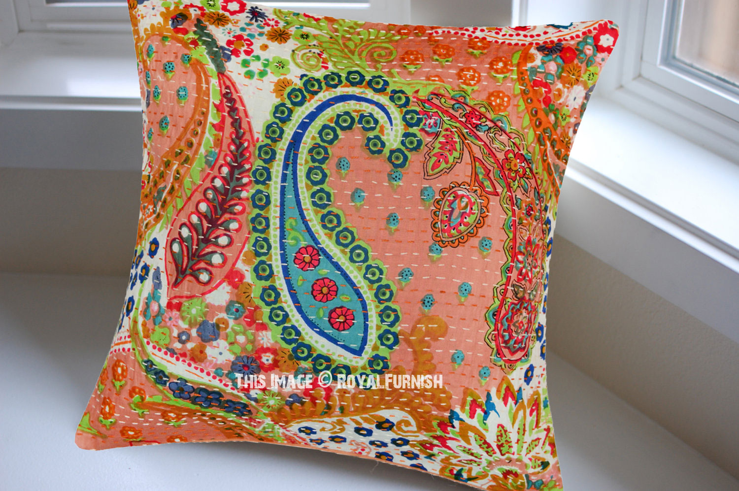 How To Make A Decorative Pillow By Hand : 16