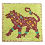 Big Size Tiger Kantha Patchwork Wall Hanging Tapestry Decor Art