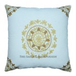 "40""X40"" Cm Embroidered Suzani Indoor/Outdoor Square Pillow Case"