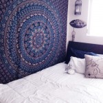 Blue Queen Size Wall Hanging Hippie Indian Mandala Bedspread Tapestry bohemian Ethnic Throw
