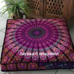 "Pink Purple Mandala Square Floor Pillow Cover 36"" Inch"