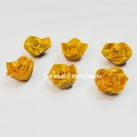Gift Pack of Yellow Rose Shaped Decorative Floating Fragrance Candle Set of 6