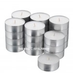 Unscented White Tea Light Candles, Votive Candles Set of 50