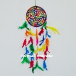 Colorful Rainbow Cherokee Dreamcatcher