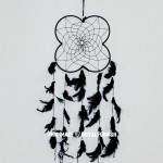 Black Boho Decor Dream Catcher