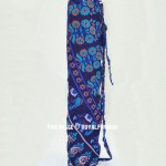 Blue Mandala Printed Lightweight Eco Friendly Yoga Mat Bag