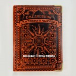 Magic Sun Genuine Leather Bound Journal - Lined Diary Notebook