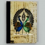 Boho Peacocks Paper Journal Notebook